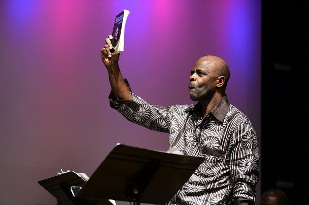 Craig Harris and the Nation of Imagination perform at the Newark Museum (Ben Solomon/For the Star-Ledger)
